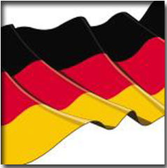 PAPSTAR Serviettes à motif 'Germany', 300 x 300