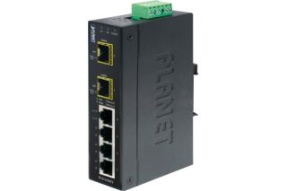 Switch Industriel Planet IGS-620TF - 4 ports Gigabit + 2 ports sfp 100FX/1G
