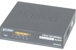 Switch Planet FSD-504HP 5 ports 10/100 dont 4 PoE 60W