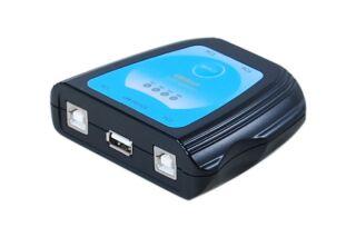 Switch USB 2.0 pour 1 Imprimante - 4 ordinateurs PC/MAC