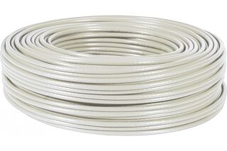 Câble multibrin F/UTP CAT6A LS0H gris - 100 m