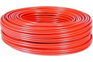 câble multibrin S/FTP CAT6 rouge - 100 m