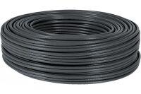 câble multibrin S/FTP CAT6 noir - 100 m