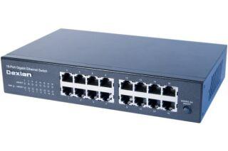 """switch 16 ports Gigabit rackable 10"""" et 19"""""""