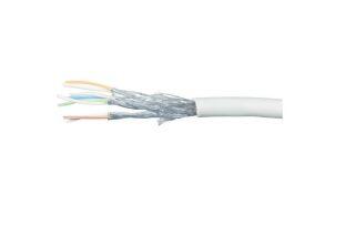 Cable multibrin s/ftp CAT6A gris - 100M