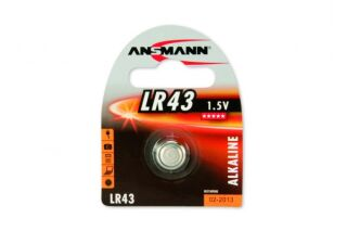 ANSMANN Piles alcalines 5015293 LR43 blister de 1