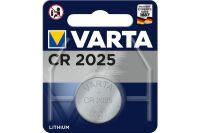 VARTA Piles lithium 6025101401 CR2025 blister de 1