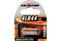 ANSMANN Piles alcalines 1510-0009 4LR44 blister de 1