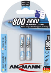 Pile recharg. LR03 maxE AAA ni-mh 800mAh - Blister de 2