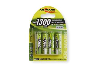ANSMANN Batteries 5030792 HR6 / AA blister de 4