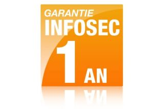 Infosec extension de garantie 1AN 1,6KVA - 800VA