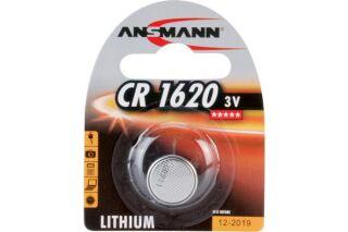ANSMANN Piles lithium 5020072 CR1620 blister de 1