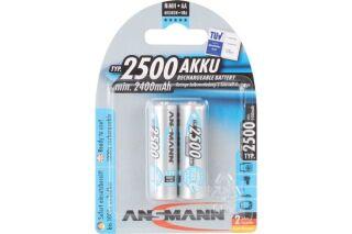 Batteries nimh LR06 aa prètes à l'emploi