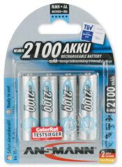 Pile recharg. LR06 maxE AA Ni-Mh 2100mAh x4