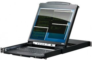 "ATEN CL5800 Console LCD 19"" Dual Rail 1 port VGA/USB-PS2"