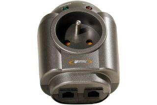 INFOSEC Prise S1 LAN parafoudre et surtension RJ45 1 prise