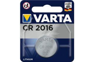 Pile bouton CR 2016 3Volts Blister de 1