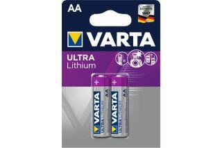 Pile lithium LR06 aa 2900 mah blister de 2