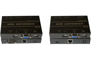 Extendeur de console KVM VGA/USB 150M sur CAT5