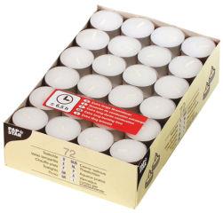 PAPSTAR Bougies chauffe-plat, diamètre: 39 mm, blanc