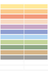 HERMA étiquettes pour crayons HOME, couleurs assorties,