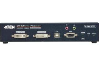 Aten KE6940T Prolongateur KVM Double DVI/USB IP - Emetteur