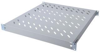 DIGITUS étagère, 1U,profondeur: 500 mm, gris clair, pour