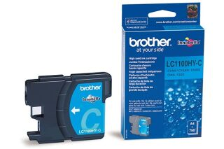 Cartouche BROTHER LC1100HYC - Cyan