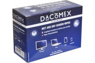 Dacomex Boite de 2x10 lingettes Humides/Séches pour LCD