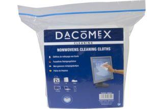 Dacomex - Sachets de 50 chiffons blancs