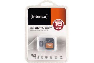 INTENSO Carte MicroSDHC Class 4 - 16Go
