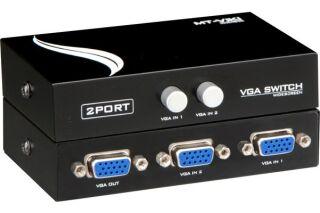 Commutateur manuel écran VGA HD15 - 2 voies