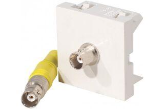 Plastron adaptateur bnc f/f - 0,20 m