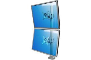 DATAFLEX Support à fixer / pincer  Viewmate 52672 - 2 écrans