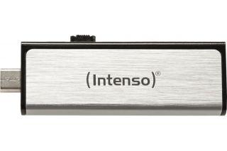 Clé USB 2.0 INTENSO Mobile Line USB + Micro USB - 16Go