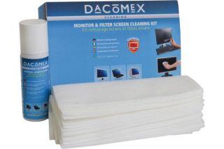 DACOMEX Kit de nettoyage écran LCD/plat 70ml + chiffons