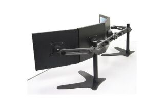 "Support 4 écrans lcd horizontal 19"" - Anthracite 53433"