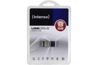 INTENSO Clé USB 2.0 Micro Line - 8Go