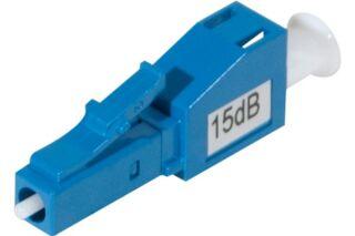Attenuateur 15 dB LC/LC -M/F UPC