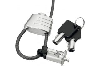 Dacomex antivol boucle a cle avec passe cable securisé