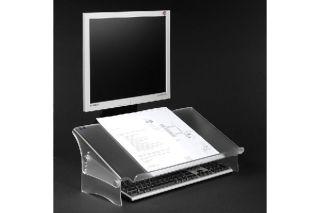 DATAFLEX Porte copie/doc. Acrylique - Hauteur réglable 49411