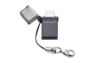 Clé USB 2.0 INTENSO Mini Mobile Line USB + Micro USB -32Go