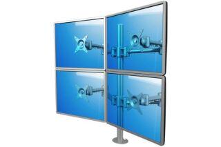 Dataflex support a fixer/ pincer 52622 4 ecrans jusqu'a 22''