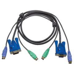 Câble KVM 2L-5006P/C PS2/VGA vers PS2/VGA 6m