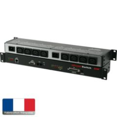 ePowerSwitch rackable SSL128 8 out master 2x10A