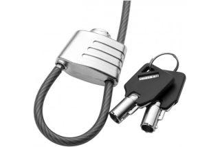Dacomex cable en acier securite avec antivol a cle