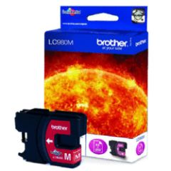 Cartouche BROTHER LC-980M - Magenta