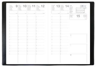 QUO VADIS Agenda classique 'Olympe' 2017, 160 x 240 mm,