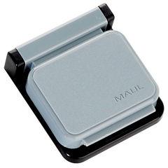 HEBEL Clip magnétique S, gris, pour fixer les informations
