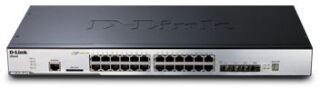"""Switch 19"""" L2 20 ports Giga + 4 ports Giga/SFP"""